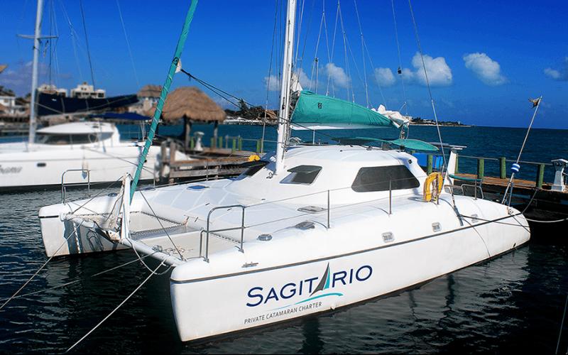 sagitario catamaran