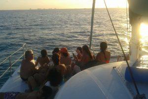 cancun sunset cruise