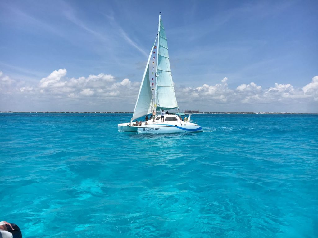 cancun catamaran